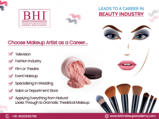 Best Bridal Makeup Courses – BHI Makeup Academy