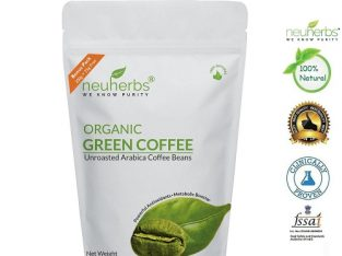 Neuherbs Organic Green Coffee beans, 225gm