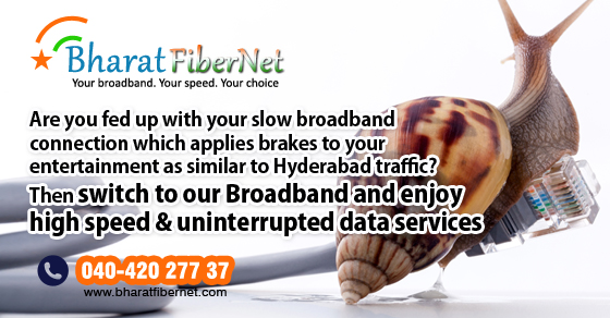 Best broadband in Hyderabad