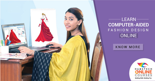 Fashion CAD Course to Design Faster. Join Hamstech Online Courses