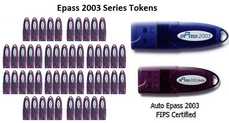 Epass 2003 Series Tokens Electronic device
