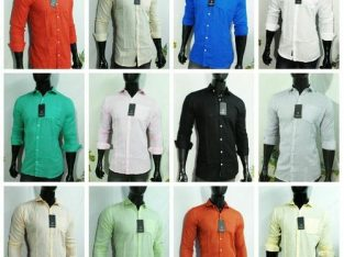 Linen shirts for wholesalers in Rajasthan.