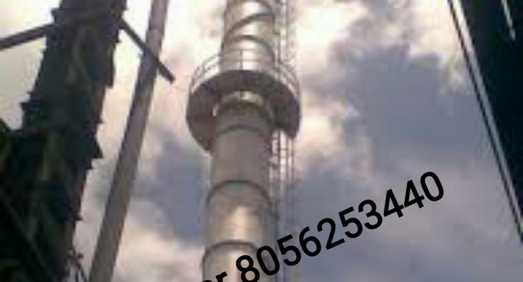 Ganmar Industrial Mild Steel Chimney Manufacturers in Chennai India