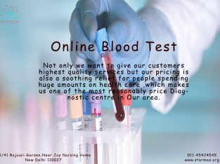 Online Blood Test in Delhi | Online Blood Test