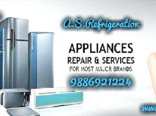 washing machine & Refrigerator repairs and services