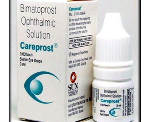 Buy cheap careprost eye drops online
