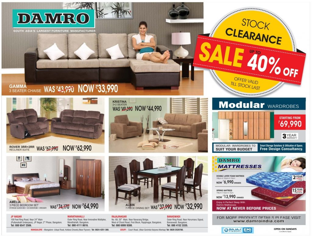 Admirable Damro Furniture Pvt Ltd In Kolkata Top Free Classifieds Bralicious Painted Fabric Chair Ideas Braliciousco