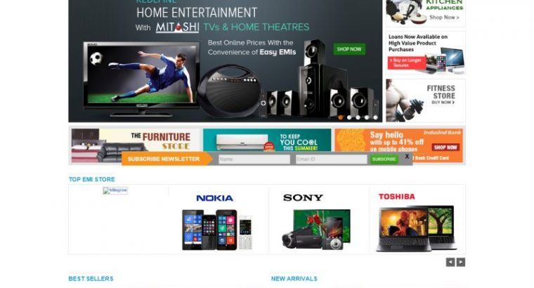 Emibazaar.com Online shopping Coupons & Offers, Home & Kitchen appliances