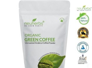 Neuherbs Green Coffee Beans  for Weight management & belly fat burner – 800gm