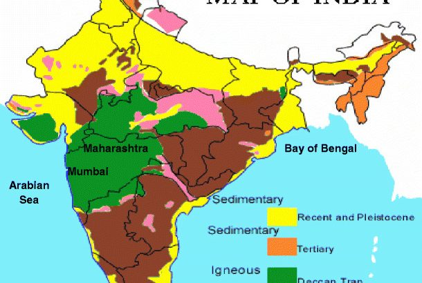 Political Map of India.