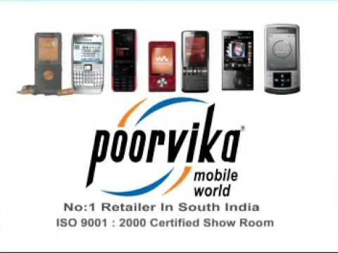 Poorvika Mobiles in Chennai,Retail Shop of all Top Brands Mobiles & Accessories.