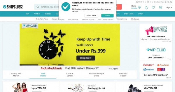 shop clue Online Shopping Site in India.