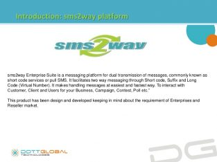 sms2way Bulk SMS / 2 Way Messaging Telangana