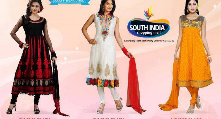 South india shopping mall in Hyderabad.