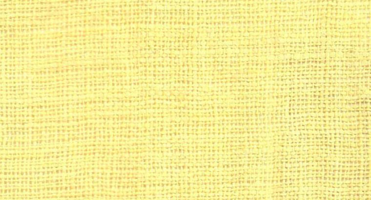 NS Fabric Light Yellow Linen Unstitched Shirt pc