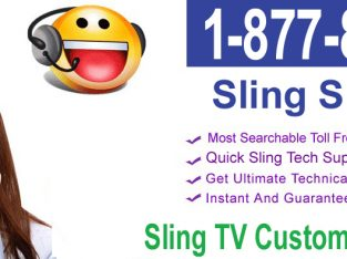 Sling TV Support Phone Number USA +1 (877) 852-0777