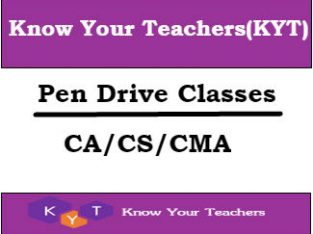 Know Your Teachers (KYT) | Amazing Teaching Collection of Online CA, CS,CMA, CFA, FRM Classes in India.