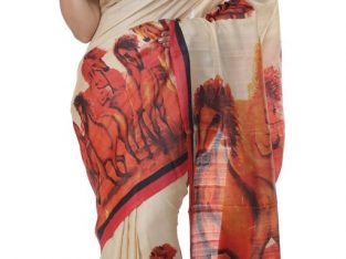 Buy Tussar Silk Sarees Online From Bengali Sarees Online Shopping Site In india