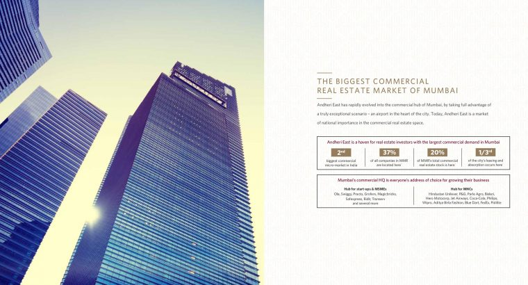 1 Aerocity Andheri east is offering commercial project in Mumbai