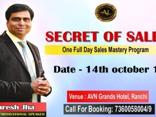 Secret Of Sales Event in Ranchi