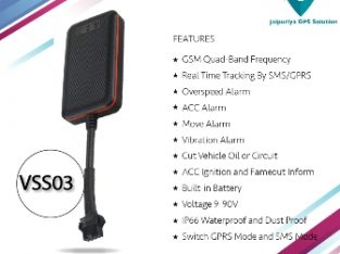 VSS03 Vehicle GPS tracking device In Jaipur