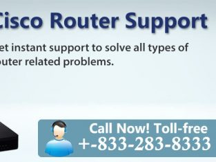 Network Issue? Contact For CISCO Router 1-833-283-8333 Tech Support Number