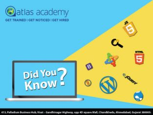 Atlas Academy – Job Oriented IT training in Ahmedabad with Hands on Live Projects