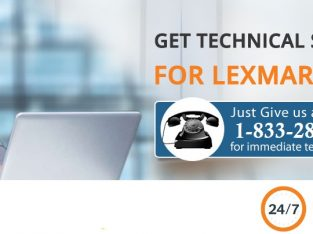 Lexmark Printer Customer 1-833-284-2444 Support Number USA