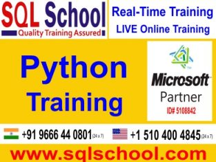 PRACTICAL Python Online Training AND PROJECT