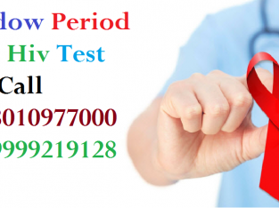 [+91-8010977000]window period for hiv test in Gulmohar Park
