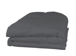 Dark grey comforter-A Sign of Royality
