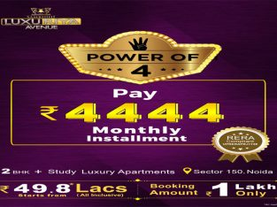 Luxury 2/3 BHK flat ranging from 1165 to 1690 SQ. FT. in Noida