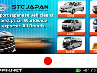 Japanese Used Cars for Sale – STC Japan
