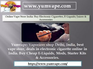 Online Vape Store India: Buy Electronic Cigarettes, E-Liquids/Juices & Accessories