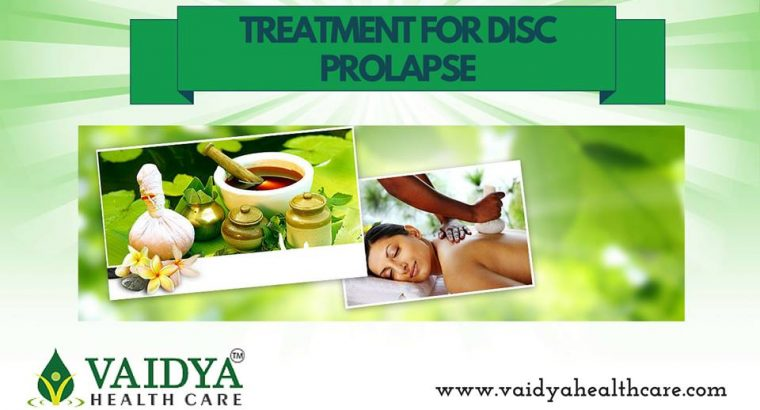 Get Ayurveda Treatment For Prolapsed Disc