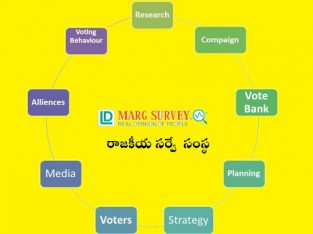 Political Survey for Elected Representative | Contesting Candidate in Andhra Pradesh and Telangana | LD Marg Survey