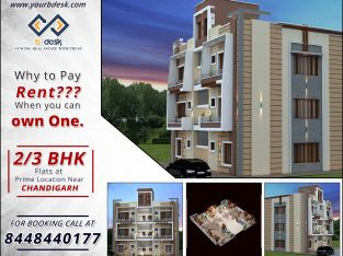 2/3 BHK Flats For Sale Near Chandigarh