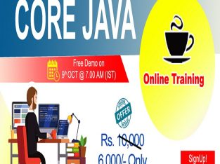 Core Java Online Training in USA – NareshIT