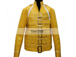 Freddie Mercury Yellow Concert Replica Jacket
