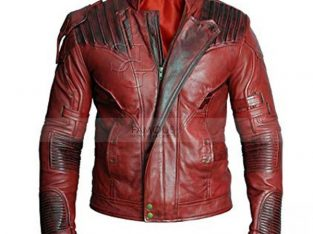 Guardians Of The Galaxy 2 Star Lord Leather Jacket
