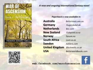 War of Ascension fantasy novel series