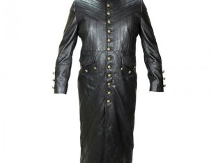 Pirate of the Caribbean Black Sails S3 Toby Stephens Leather Coat