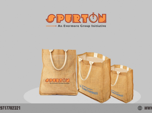 Latest trend of customized jute bag and personalized gifts for corporate by SPURTON