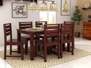 Enjoy Upto 55% OFF on 6 Seater Dining Set Online @ Wooden Street