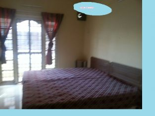 5000 square feet land with 1000 sq ft 2 room kitchen tet