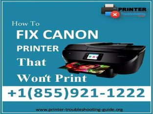 HOW TO FIX A CANON PRINTER THAT WONT PRINT?