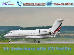 Cost-Effective Patient Transfer Air Ambulance Service in Kolkata by Medilift