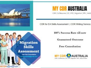 Approved CDR for Engineers Australia by mycdraustralia.com