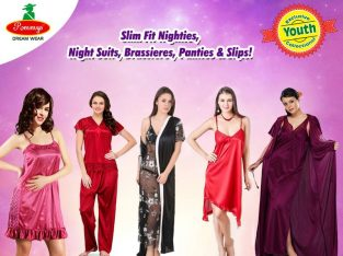 Buy 100% Branded Pure Cotton Nighty and Womens Latest Night Dress Online