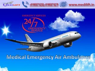 Utilize Medical Emergency Air Ambulance Services in Mumbai by Medilift